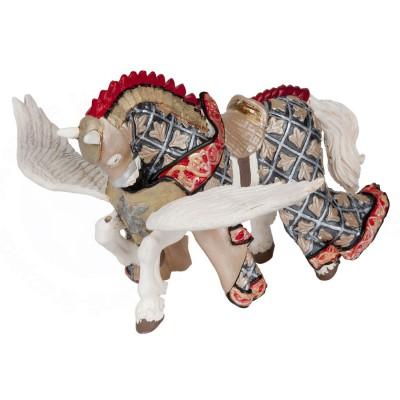 Papo Figurine Cheval du Maître des armes cimier Pégase