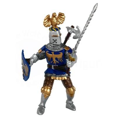 Papo Figurine Chevalier au cimier bleu