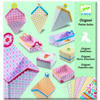 Djeco Origami Petites boîtes