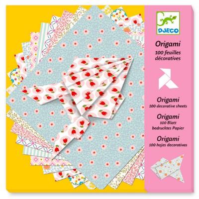 Djeco Origami : 100 feuilles décoratives