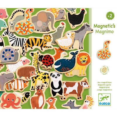 Djeco Animaux magnétiques : magnimo