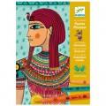 Djeco Feutres Pinceau : Art au numéro : Art Egyptien