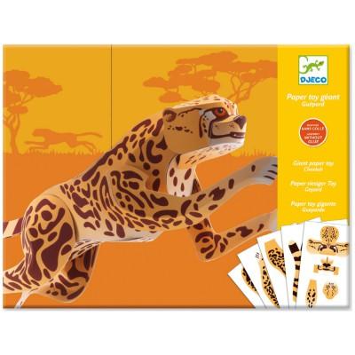 Djeco Paper Toy : Jaguar Géant