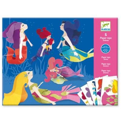 Djeco Paper Toy : Les sirènes