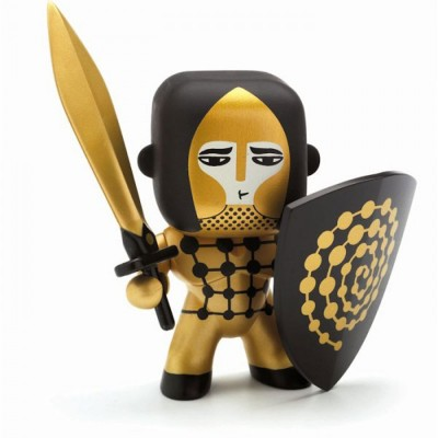 Djeco Figurine Arty Toys : Les chevaliers : Golden knight
