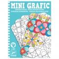 Djeco Mini Grafic : Coloriages floraux