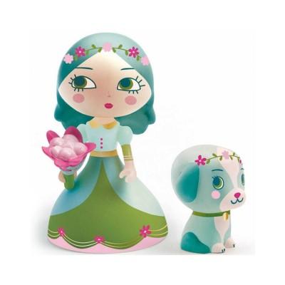 Djeco Figurine Arty Toys : Les princesses : Luna & Blue