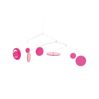 Djeco Mobile fluo : pink fly