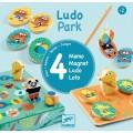 Djeco Coffret 4 jeux : LudoPark