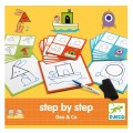 Djeco Jeu Eduludo : Step by step Geo and co