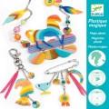 Djeco Set créatif bijoux en plastique magique : Cheval arc-en-ciel