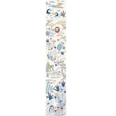 Djeco Lé de papier peint : blue savannah