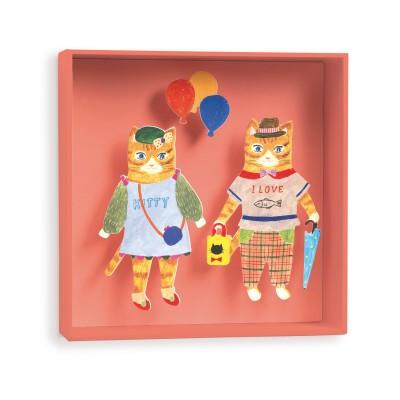 Djeco Tableau chats ballon