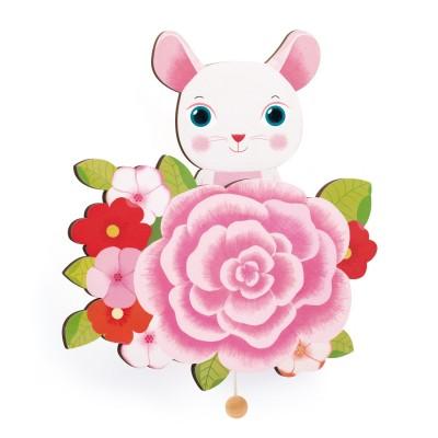 Djeco Boîte à musique murale : souris
