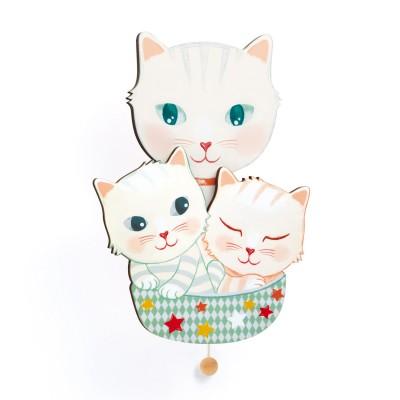 Djeco Boîte à musique murale : chatons