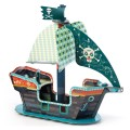 Djeco Play to play : Bateau de pirate 3D