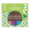 Djeco 24 crayons aquarellables