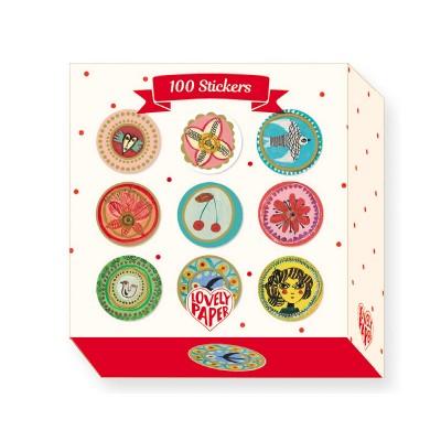 Djeco 100 stickers : aurélia fronty