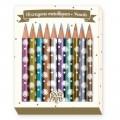 Djeco Crayons métalliques Chichi