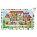 Djeco Puzzle 35 pièces : La maison