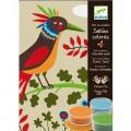 Djeco Sables colorés : Oiseaux de paradis