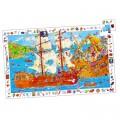 Djeco Puzzle 100 pièces - Les pirates