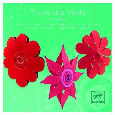 mobile en papier fleurs des vents djeco magasin de jouets pour enfants. Black Bedroom Furniture Sets. Home Design Ideas