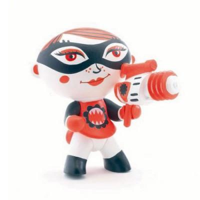 Djeco Figurine Arty Toys Les super héros : Furygirl