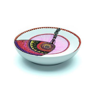Djeco Assiette creuse en porcelaine margarita : 16.5 cm