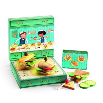 atelier sandwich emile et olive djeco magasin de jouets pour enfants. Black Bedroom Furniture Sets. Home Design Ideas