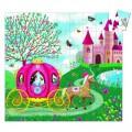 Djeco Puzzle 54 pièces - Silhouette : Le carosse d'Elise