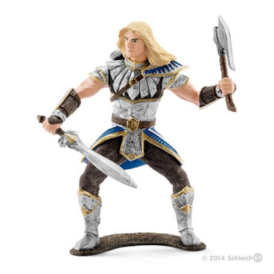 Schleich Figurine chevalier griffon sauvage