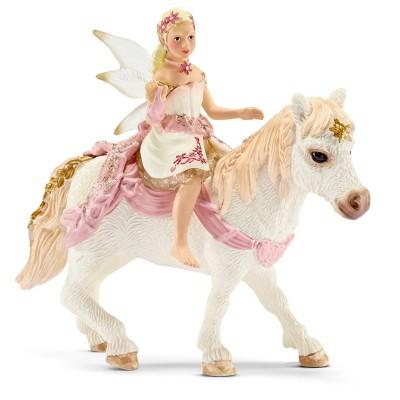 Schleich Figurine Elfe Douce comme le lys à poney