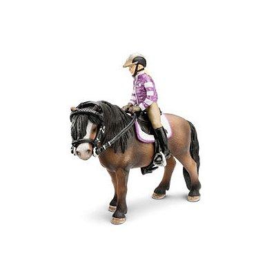 Schleich Figurine cavalier et équipement d'équitation