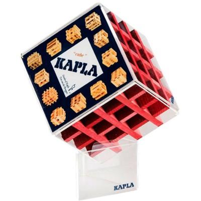 Kapla Kapla Cube 30 planchettes : Rouge