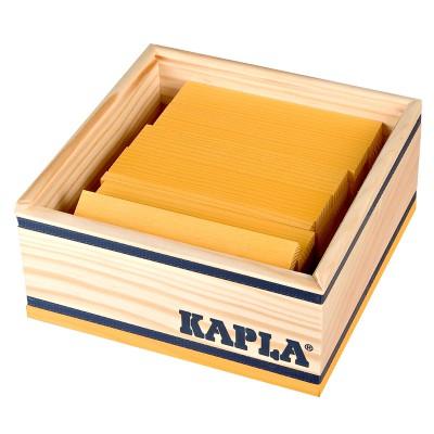 Kapla Kapla 40 planchettes - Jaune