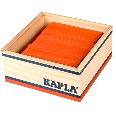 Kapla Kapla 40 planchettes - Orange