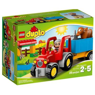 Duplo ® lego 10524 duplo : le tracteur de la ferme