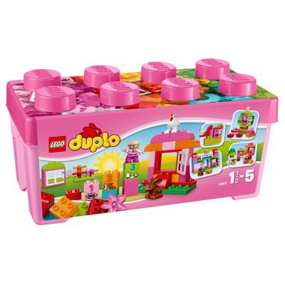 DUPLO ® Lego 10571 Duplo : Grande boîte mon jardin merveilleux