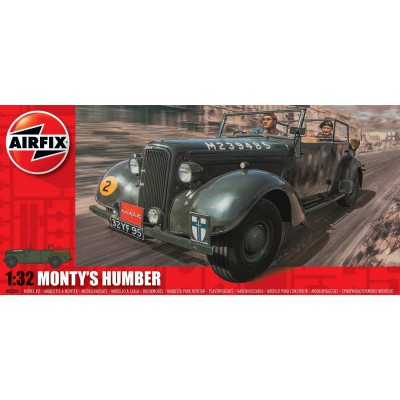Airfix Maquette véhicule militaire : monty's humber
