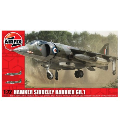 Airfix Maquette avion : hawker siddeley harrier gr1