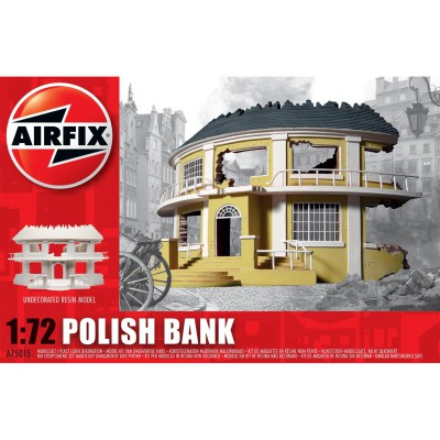 Airfix Maquette ruines de guerre : banque polonaise