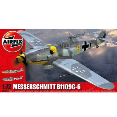 Airfix Maquette avion : messerschmitt bf109g-6