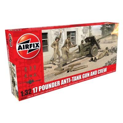 Airfix Maquette véhicule militaire : 17 pdr anti-Tank gun