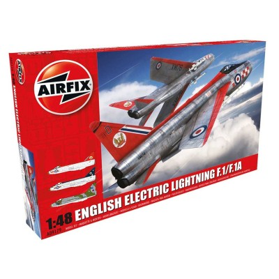 Airfix Maquette avion : english electric lightning f1/f1a/f2/f3