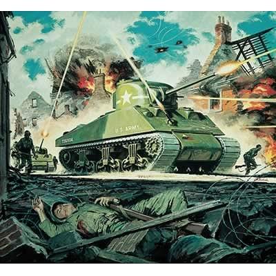 Airfix Maquette char: m4 sherman mk1 tank