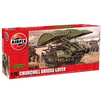Airfix Maquette char : churchill bridge layer