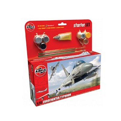 Airfix Maquette avion : starter set : eurofighter typhoon