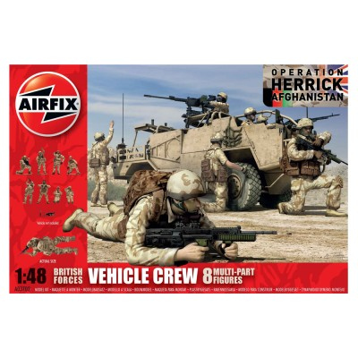 Airfix British Maintenance Crew (Afghanistan) - Equipage