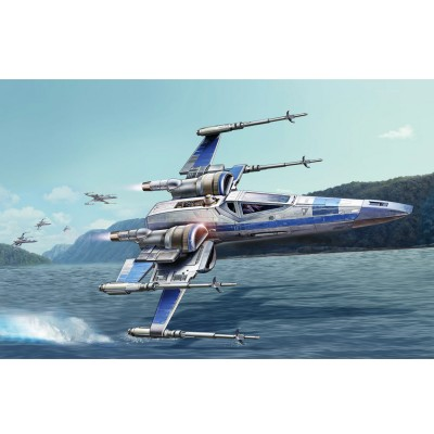 Revell Maquette Star Wars : Easy Kit : Resistance X-Wing Fighter